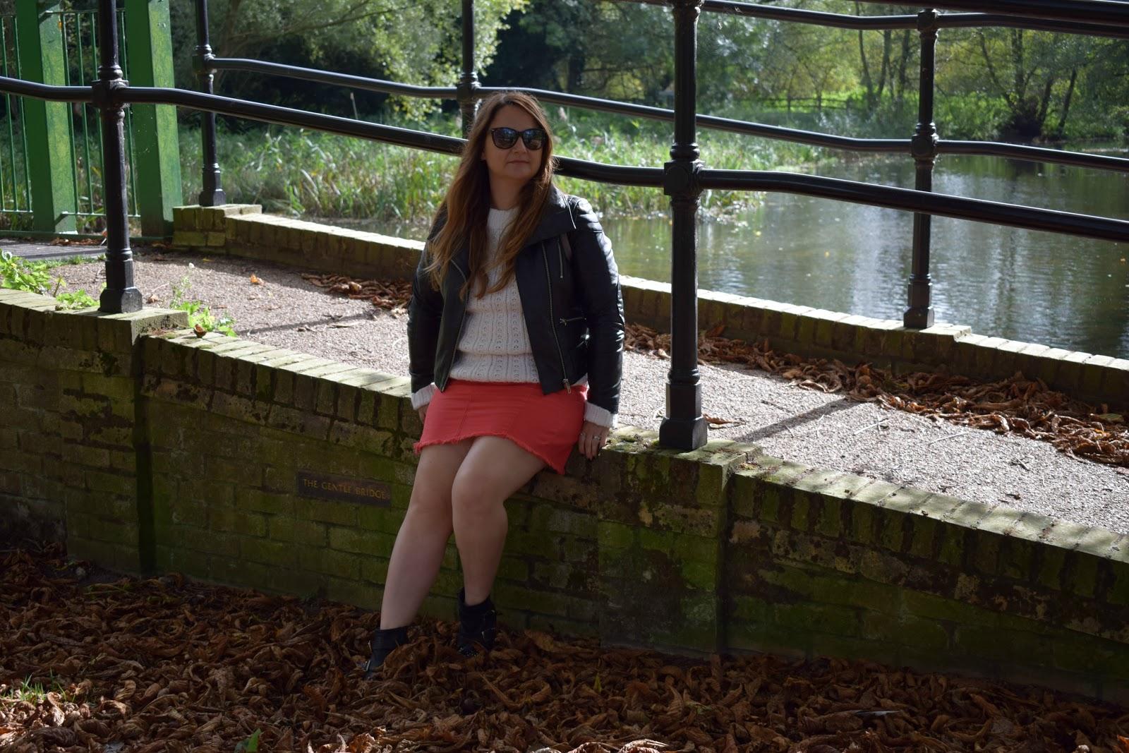 styling a denim skirt for autumn