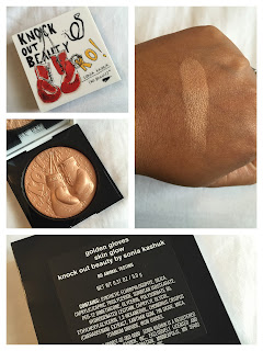 Sonia Kashuk Golden Gloves Skin Glow Swatch (Limited Edition)