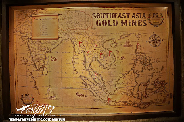 Lombong Emas, Mendulang Emas, Proses Membuat Emas, PG Gold Museum, Siti Yang Menaip, Muzium Emas, Tempat Menarik Di Pulau Pinang, Tempat Menarik Di Penang, Jongkong Perak, Public Gold, Kedai Jual Beli Emas, Muzium Emas Pertama,