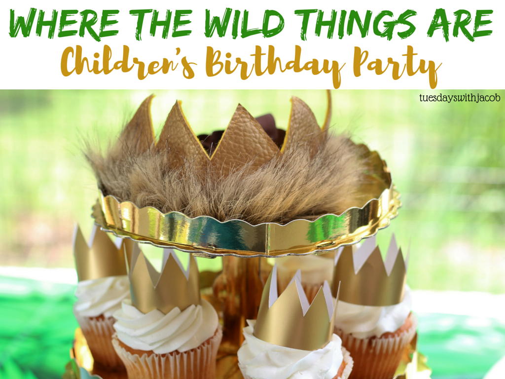 Jacob Is Two Wild Where The Wild Things Are Birthday Party Tuesdays With Jacob