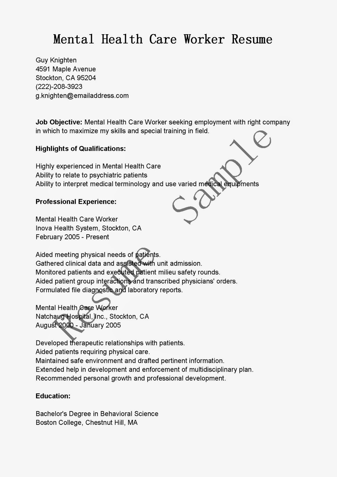 100 Care Worker Cover Letter Medical Social Worker Cover