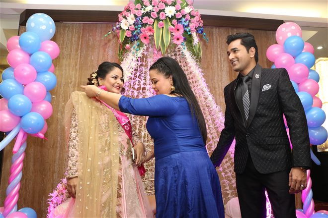 Comedian Mubeen Saudagar's Wife Baby Shower At Time & Again