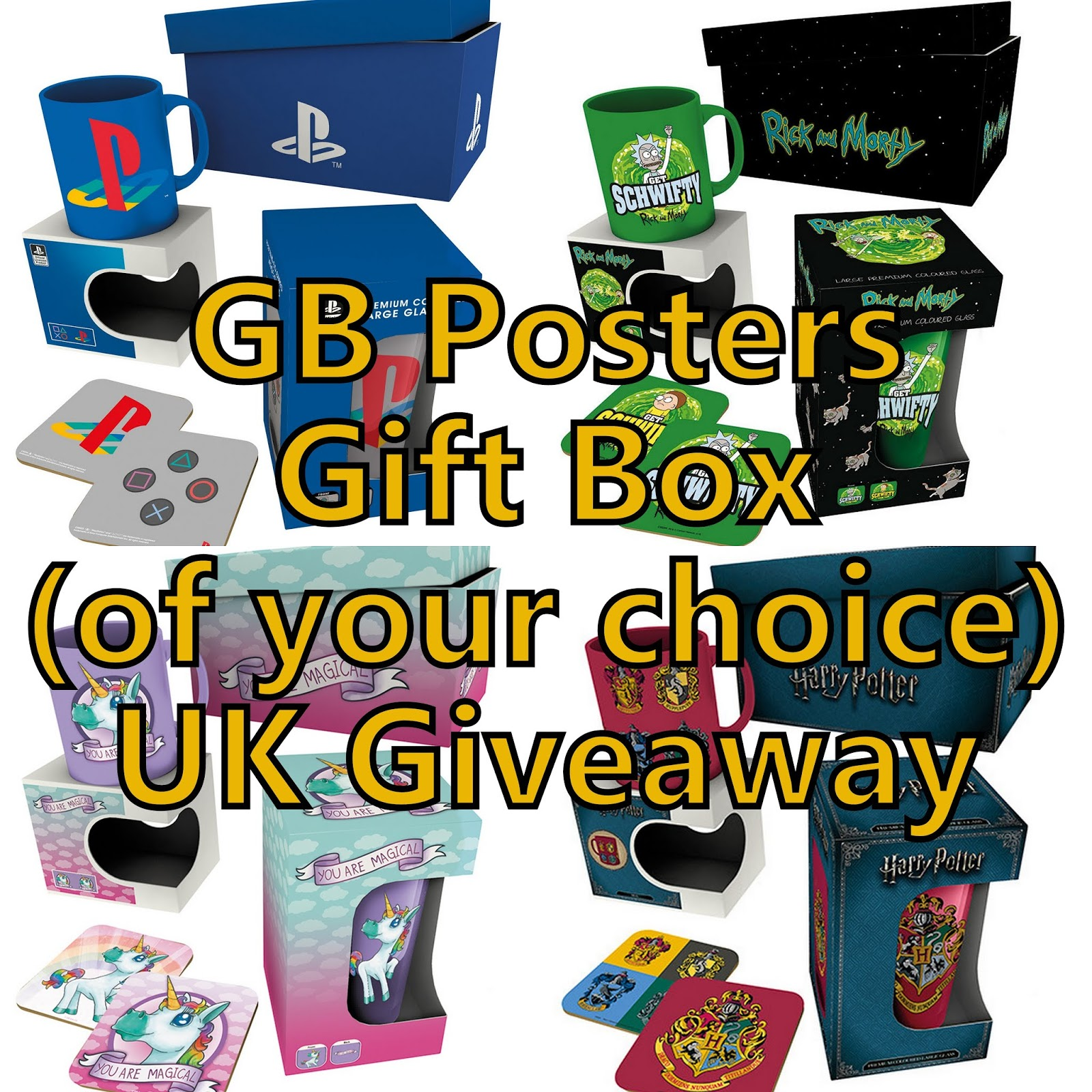 the brick castle gb posters gift box of your choice christmas