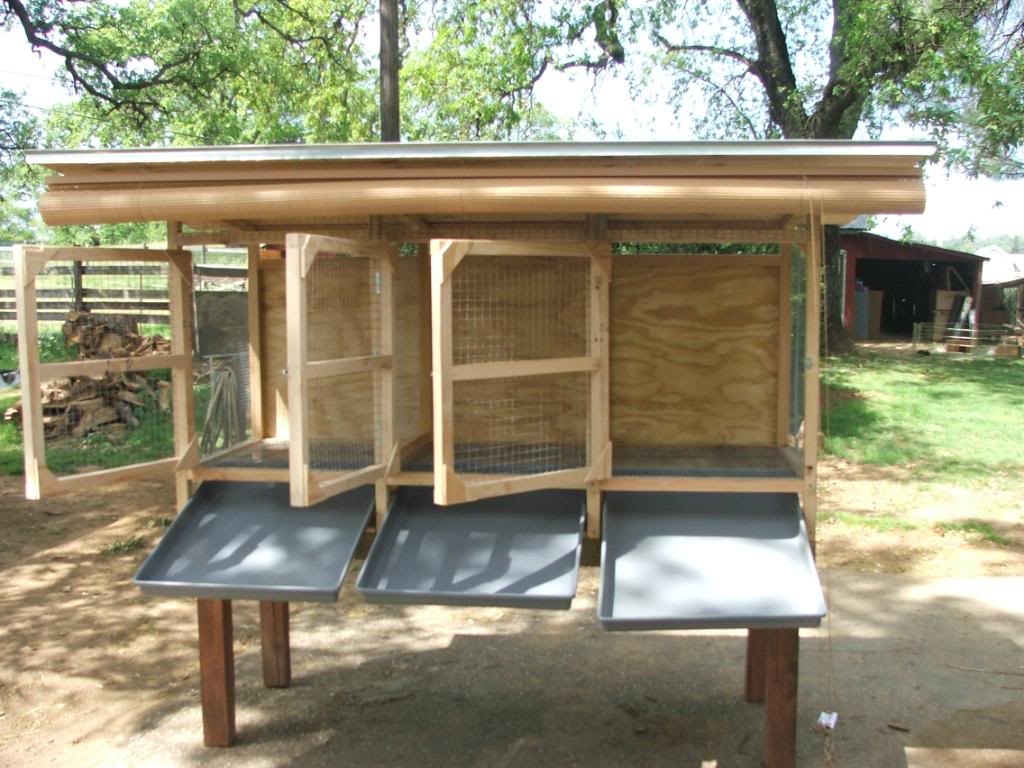 Kandang Ternak Kelinci Model Minimalis | PoultryShop Indonesia