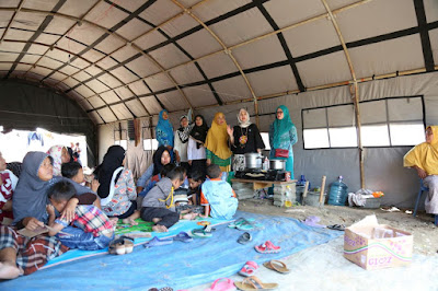 PKK Lampung Timur Bantu Korban Banjir di Pasir Sakti dan Jabung