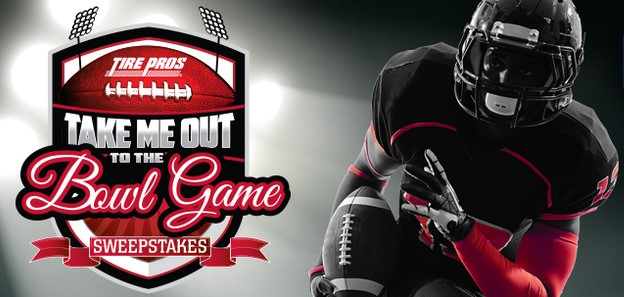 TIRE PROS BOWL GAME SWEEPSTAKES