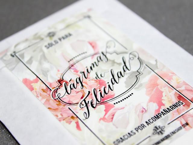 lágrimas de felicidad detalles de boda