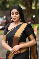 Poorna in Cute Backless Choli Saree Stunning Beauty at Avantika Movie platinum Disc Function ~  Exclusive 085.JPG