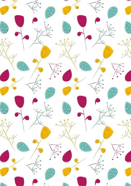 Wiese pattern, Muster