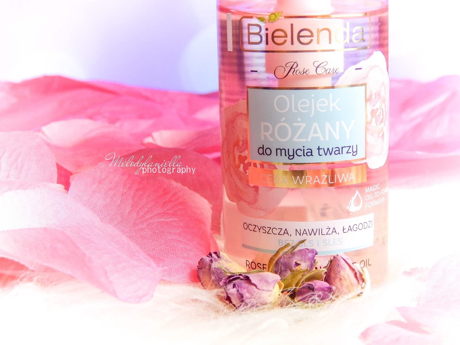 10 Bielenda rose care różany krem do twarzy recenzja kojąca woda różana 3w1 olejek różany do mycia twarzy produkty bielenda seria różana melodylaniella test produktów kosmetycznych ciekawe blogi lifestyle
