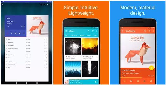 17 Aplikasi Pemutar Musik Terbaik di Android 2017