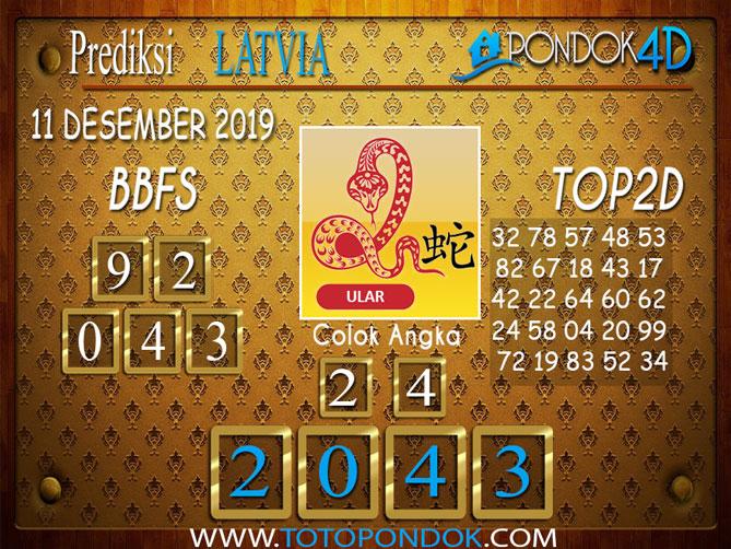 Prediksi Togel LATVIA POOLS PONDOK4D 11 DESEMBER  2019