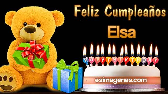 Feliz Cumpleaños Elsa