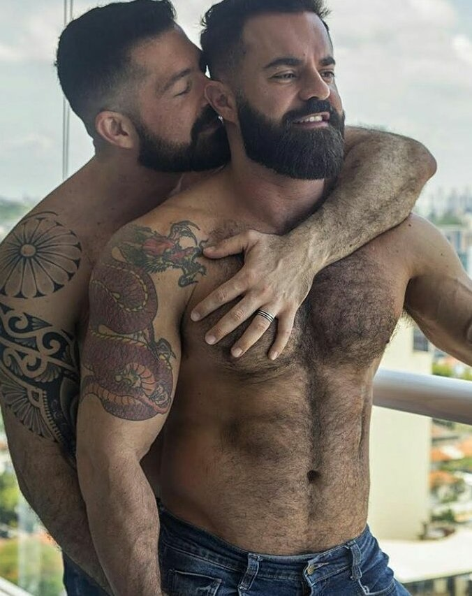 Porn gay couples with tattoos