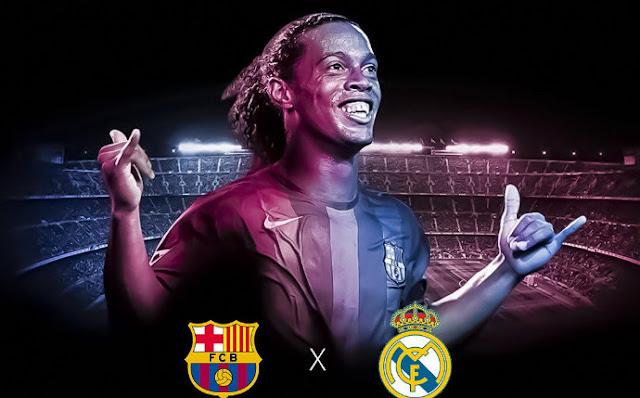 Ronaldinho jogará El Clásico de Lendas
