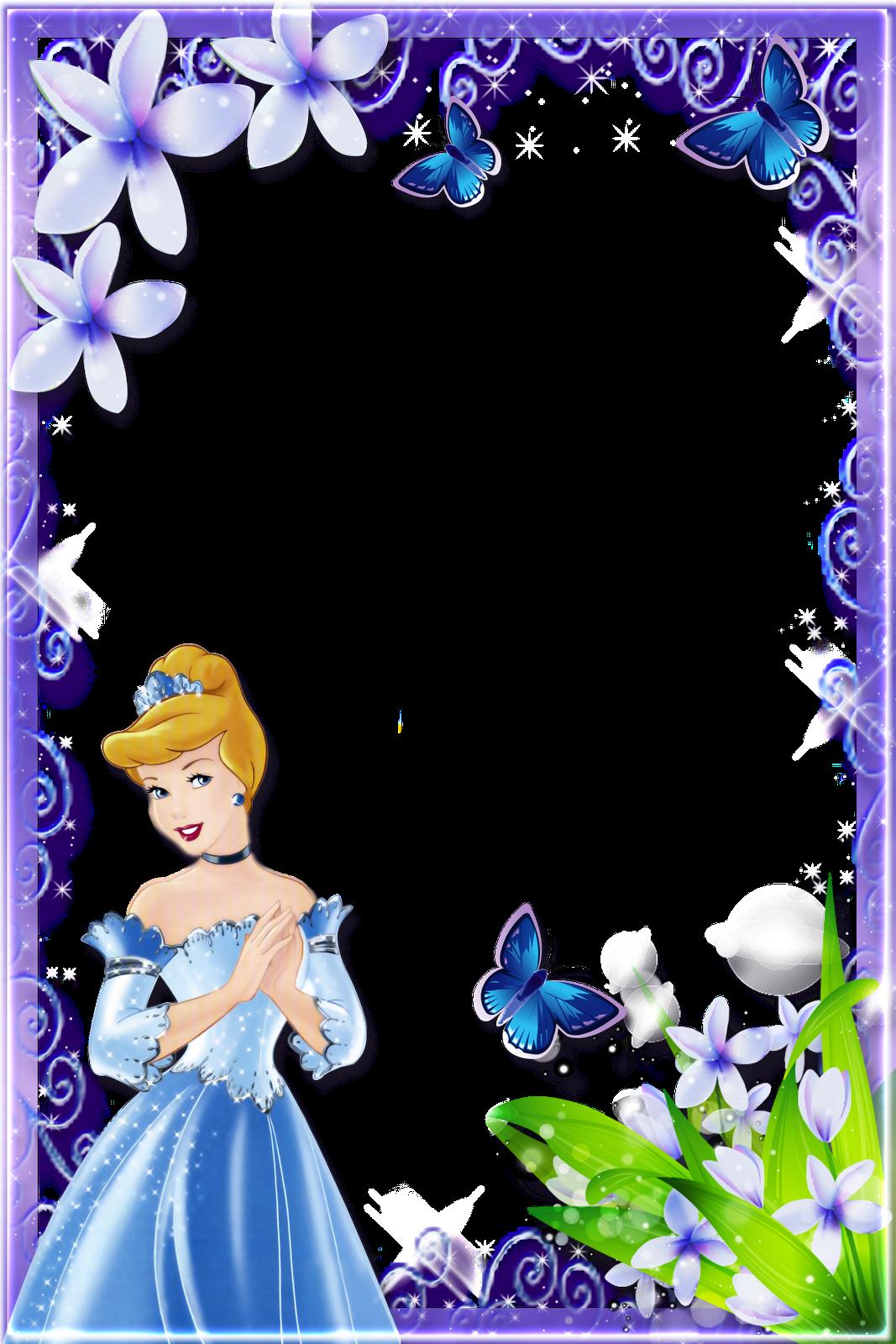 Frames Png Princesas Disney 7 Imagens Para Photoshop