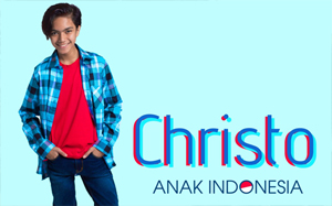 "Christopher Edgar  "" Juara 1 The Voice Kids Indonesia 2016 """