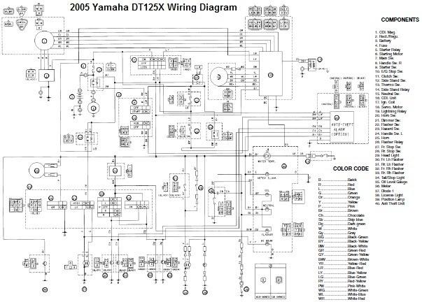 Wiring Diagram For Yamaha Yzf R125 $ Apktodownload.com