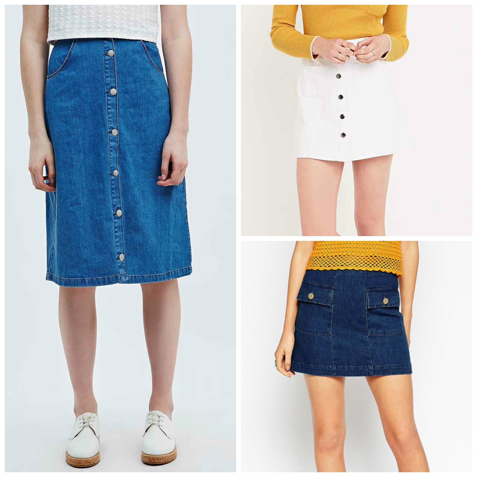 2a941610d48 Trend Analysis  The denim skirt - Chromantics
