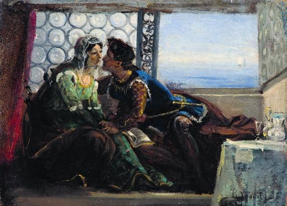 Маковский Владимир Егорович Ромео и Джульетта