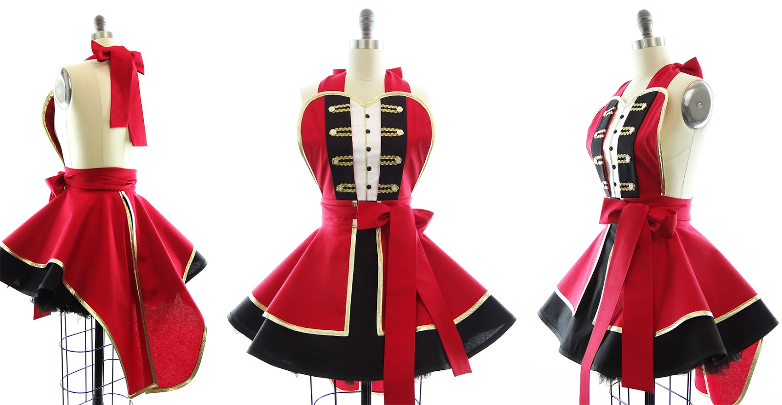 The Greatest Showman Party Ideas - Costume Apron by Bambino Amore
