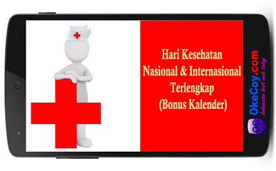 Hari Kesehatan Nasional dan Internasional Terlengkap (Bonus Kalender)