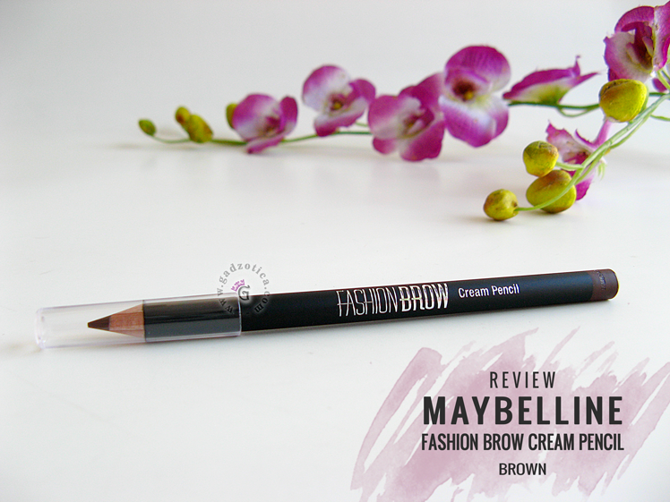 Maybelline Fashion Brow Cream Pencil Brown