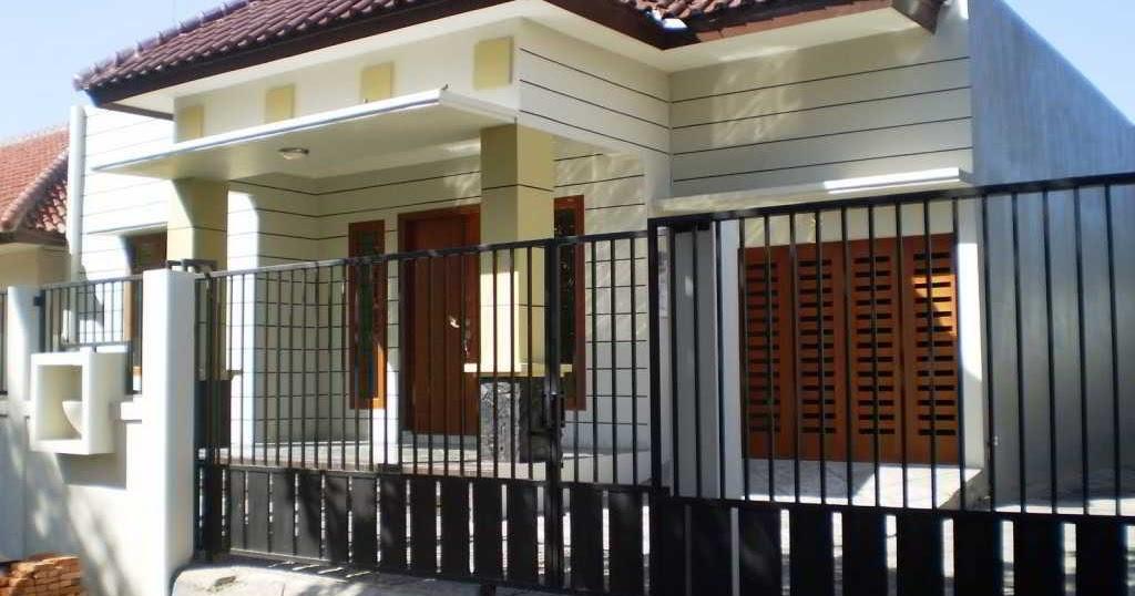 Hình dạng ngôi nhà đơn giản trong mô hình thiết kế nhà ở Kampung Aoep