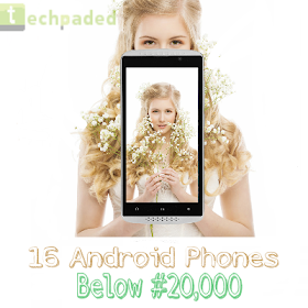16 phonea below #20000 naira in Nigeria