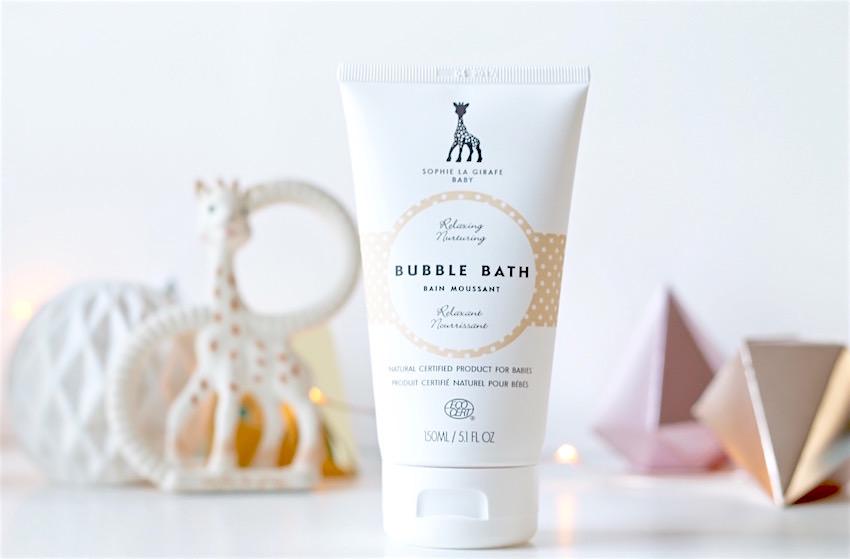 sophie la girafe bubble bath