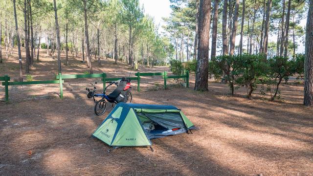 Vélodyssée - Camping à Lacanau
