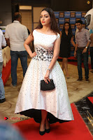 Actress Pooja Salvi Stills in White Dress at SIIMA Short Film Awards 2017 .COM 0077.JPG