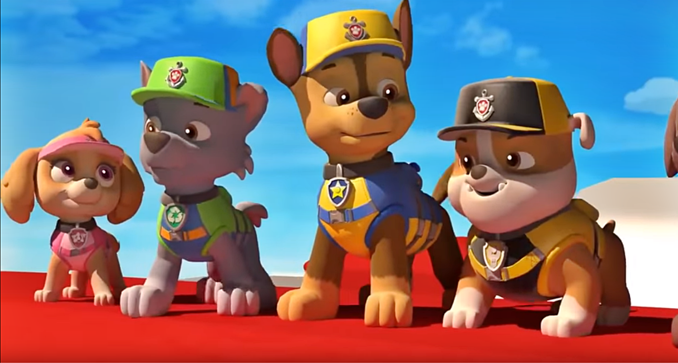 Rubble Paw Patrol Template
