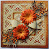Happy Thanksgiving Flower Card