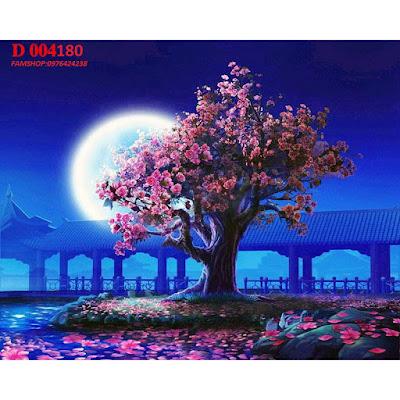 Tranh son dau so hoa o pho Hang Bac