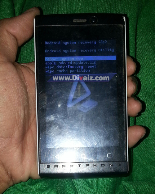 Hard reset Advan s35 - www.divaizz.com