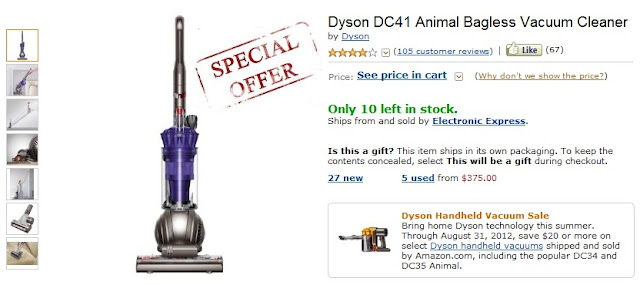 Dyson Ltd is a manufacturer of home appliances such as fans, hand dryers and vacuum cleaners. The company prides itself on its originality and innovativeness that has led to it to winning numerous awards including Designer of the Decade. Consumer reviews have pointed out affordable pricing and money's worth as notable differences from competitors.