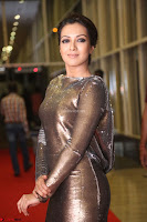 Actress Catherine Tresa in Golden Skin Tight Backless Gown at Gautam Nanda music launchi ~ Exclusive Celebrities Galleries 054.JPG