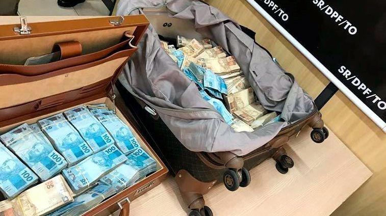MALA APREENDIDA COM MAIS DE R$ 1 MILHÃO PODE TER CONEXÃO COM ELEIÇÃO NO PARÁ – VEJA..