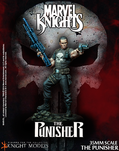The Punisher Knight models