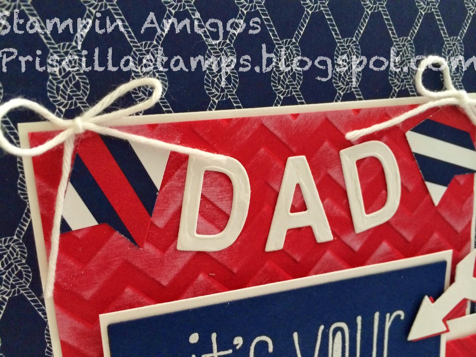 Stampin' Amigos: Happy Birthday, Dad!