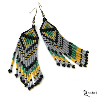beaded earrings beadwork seed bead earrings anabel 27 jewelry