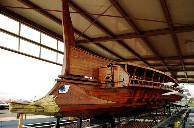 "Trireme ""Olympias"" to be displayed at 2012 London Olympic Games"