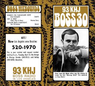 KHJ Boss 30 No. 197 - Bill Wade