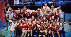 Argentina Sports Handball Mundial Femenino Noruega Campeón 2011
