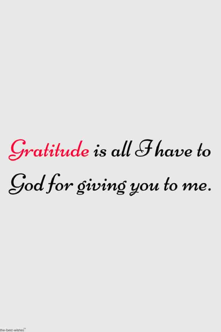 gratitude quote for her pic