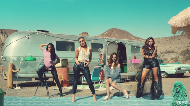 Little Mix Premiere 'Shout Out To My Ex' Video
