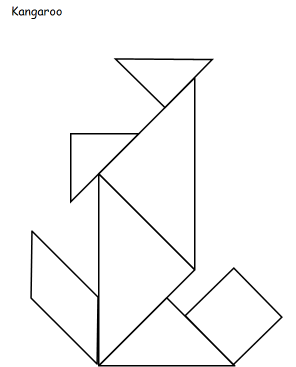 All About Right Brain Education & Kids: Tangram Image