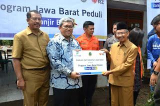 Gubernur Jawa Barat Bantu Korban Banjir Kota Bima Rp3 Milyar