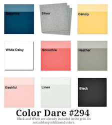 Color Dare #294 - Closes Thur June 7th